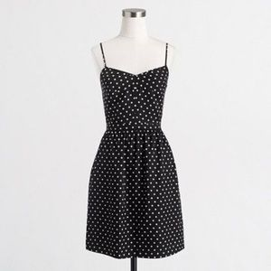 (EC) J. Crew Seaside cami polka dot dress